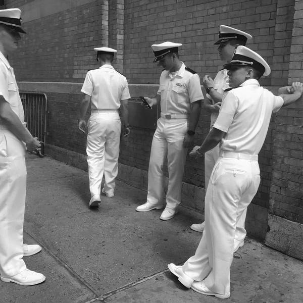 Sailors, New York, 2017