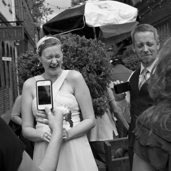 Wedding, SW 3rd Avenue, Portland, 2012