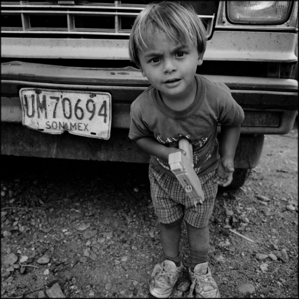 Boy with Toy Gun New Mexico, 1998