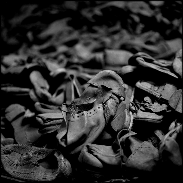 Victims' Shoes, Auschwitz, 2001