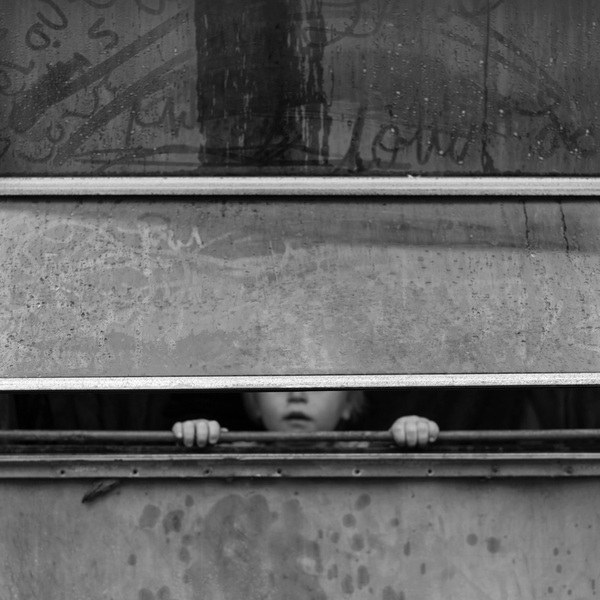 Boy at Window, Magoffin County, Kentucky, 2014