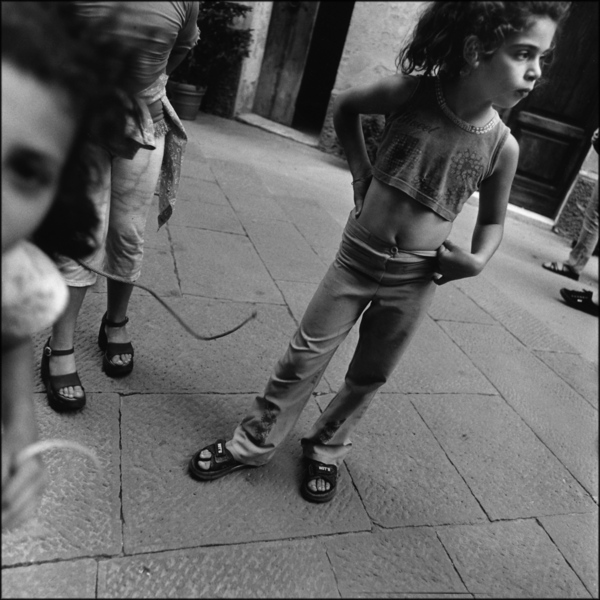 Girls with Jump Ropes, Italy, 2000