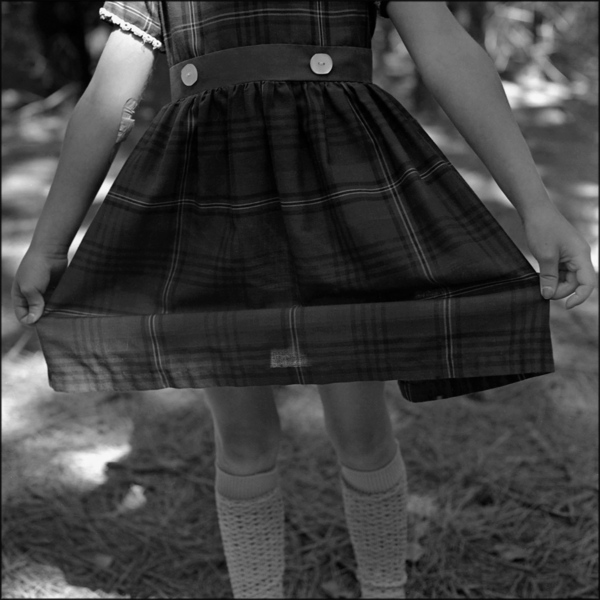 Plaid Dress, Wisconsin, 1979