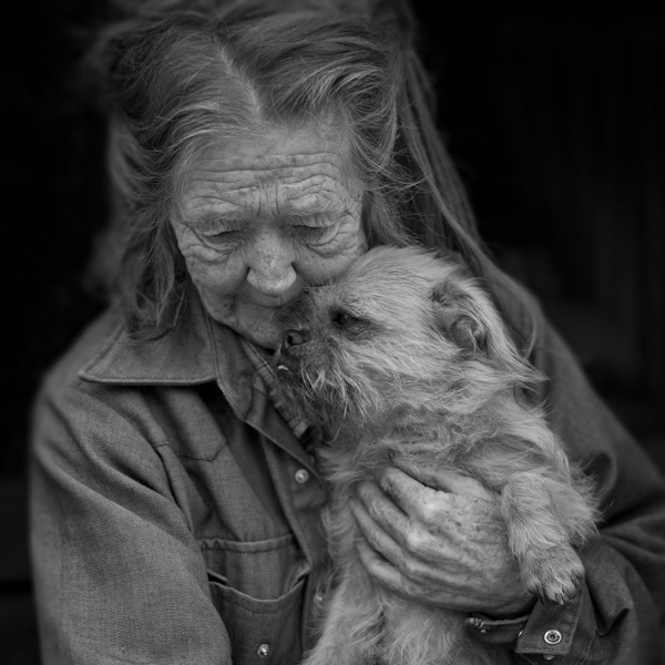 Ressa and Her Dog, Magoffin County, 2014